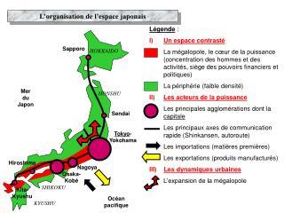 L organisation de l espace japonais