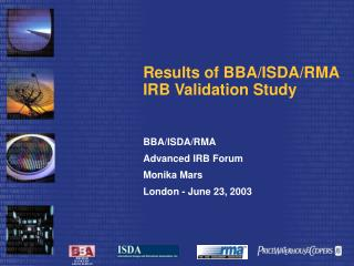 Results of BBA
