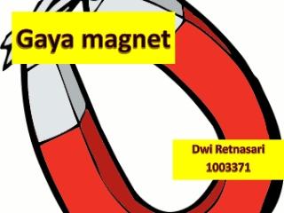 Belajar Gaya Magnet
