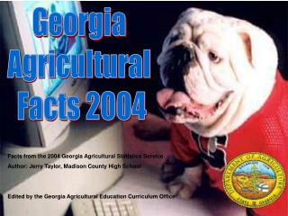 Georgia Agricultural Facts 2004