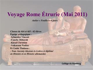 Voyage Rome  trurie Mai 2011