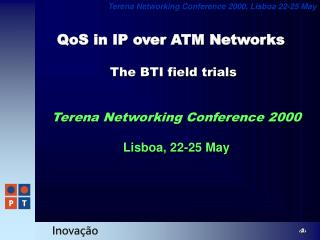 QoS in IP over ATM Networks