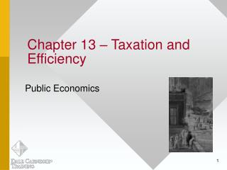 Chapter 13   Taxation and Efficiency