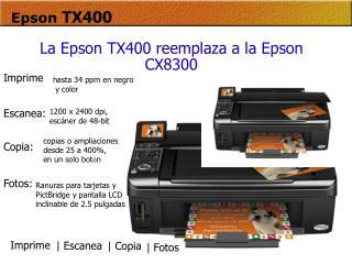 Epson TX400