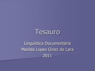 Tesauro