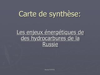 Carte de synth se: