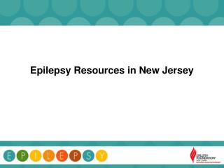 Epilepsy Resources in New Jersey