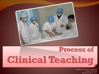 Clinical Teaching