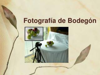 Fotograf a de Bodeg n