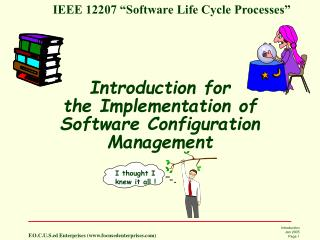 Introduction for the Implementation of Software Configuration Management