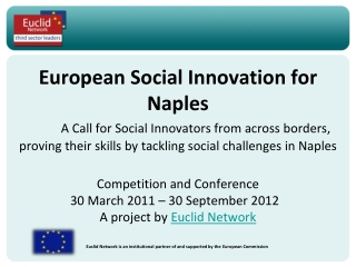 Social Inclusion and Related Technologies Workshop Brussels, 21 January 2010