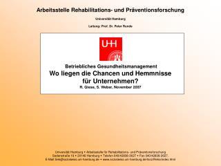Gesundheitsf rderung in deutschen Unternehmen