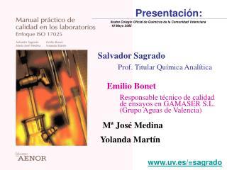 Salvador Sagrado