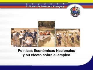 Pol ticas Econ micas Nacionales y su efecto sobre el empleo