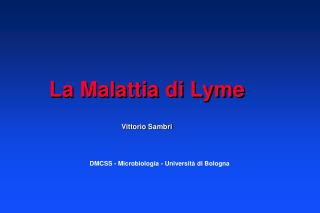 La Malattia di Lyme