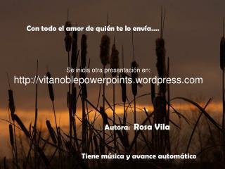 Autora:  Rosa Vila