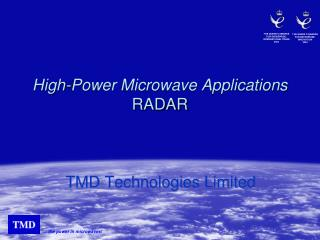 High-Power Microwave Applications RADAR
