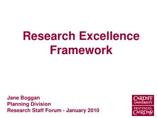 Research Excellence Framework