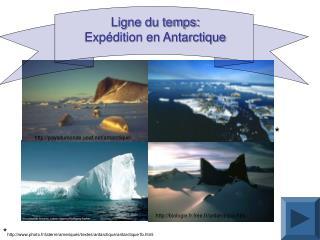 Ligne du temps: Exp dition en Antarctique