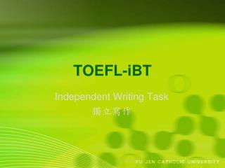 TOEFL-iBT