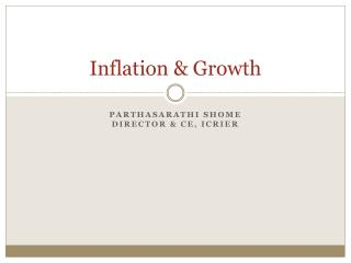 Inflation  Growth