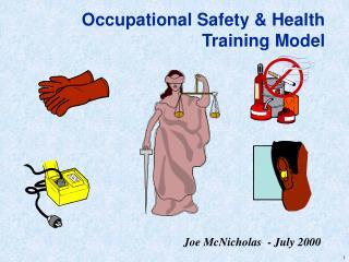 Occupational Safety  Health Training Model