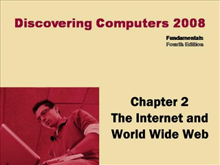 Chapter 2 The Internet and World Wide Web