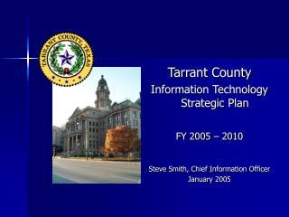 Tarrant County Information Technology Strategic Plan