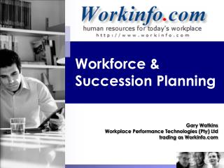 Workforce  Succession Planning