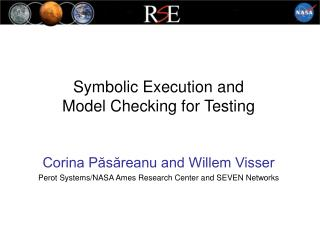 Symbolic Execution and  Model Checking for Testing