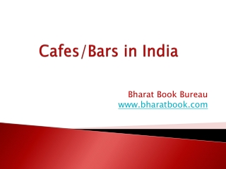 Cafes/Bars in India