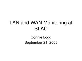 WAN Monitoring