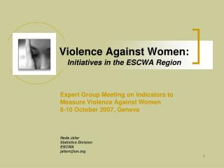 Violence Against Women: Initiatives in the ESCWA Region