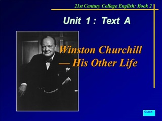 Winston Churchill   His Other Life