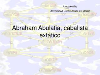 Abraham Abulafia, cabalista ext tico