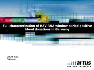 Full characterization of HAV RNA window period positive blood donations in Germany
