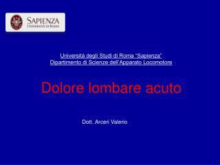 Dott. Arceri Valerio