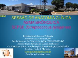Resid ncia M dica em Pediatria Hospital da Asa Sul