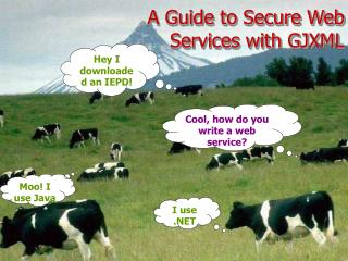 A Guide to Secure Web Services with GJXML