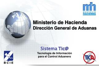Ministerio de Hacienda Direcci n General de Aduanas