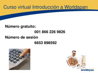 Curso virtual Introducci n a Worldspan