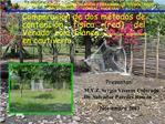 Comparaci n de dos m todos de contenci n f sica red del Venado cola blanca Odocoileus virginianus en cautiverio.