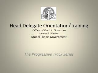 Head Delegate Orientation