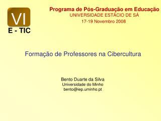 Forma  o de Professores na Cibercultura