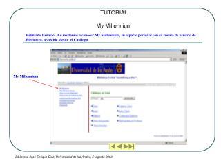 Biblioteca Jos  Enrique Diez, Universidad de los Andes, 5  agosto 2003