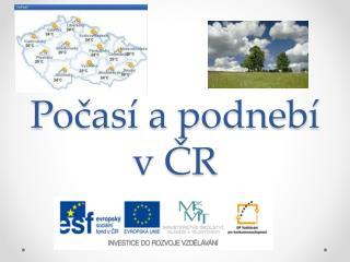 Pocas  a podneb  v CR