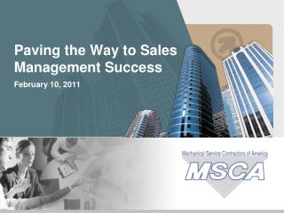 Paving the Way to Sales Management Success