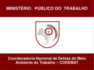 MINIST RIO   P BLICO DO  TRABALHO