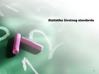 Statistika  ivotnog standarda