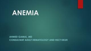 Normocytic Anemia